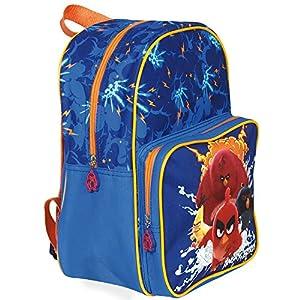 51jzQRcXeDL. SS300  - PERLETTI - 13618 Angry Birds Pequeña Mochila Niño Escuela Guarderia Viaje - Bolso Escolar Infantil Estampado - Cartera…