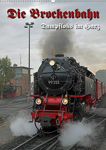 Die Brockenbahn (Wandkalender 2020 DIN A2 hoch): Dampfloks im Harz (Monatskalender, 14 Seiten ) (CALVENDO Mobilitaet)
