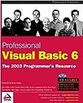 Professional Visual Basic 6: The 2003...