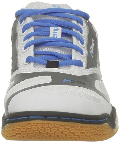 Kempa Cyclone Women (Michelin), Chaussures de handball femme Blanc (Blanc/Bleu/Anthra)