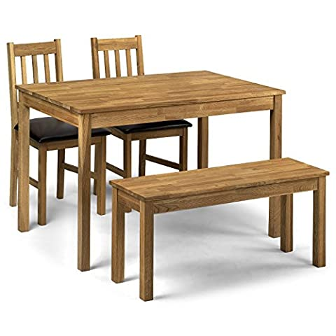 Center One Coxmoor Dining Table - 118cm, Solid Oak -