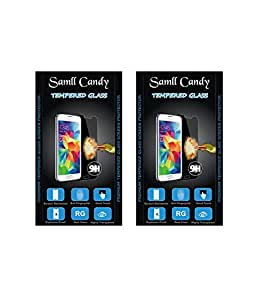 small candy 2.5D Curve Edge HD Ultra Clear Tempered Glass For Samsung Galaxy Note 3(Pack of Two)