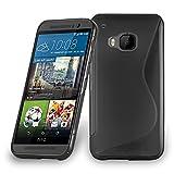 HTC ONE M9 PLUS / ONE ME Funda Super Delgada de Silicona TPU en ÓXIDO NEGRO de Cadorabo (Diseño S)...