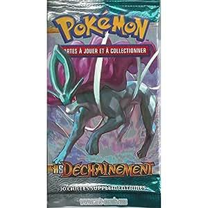 """Booster de 10 cartes Pokémon HS DECHAINEMENT RARE NEUF FR """"image Suicune"""""""