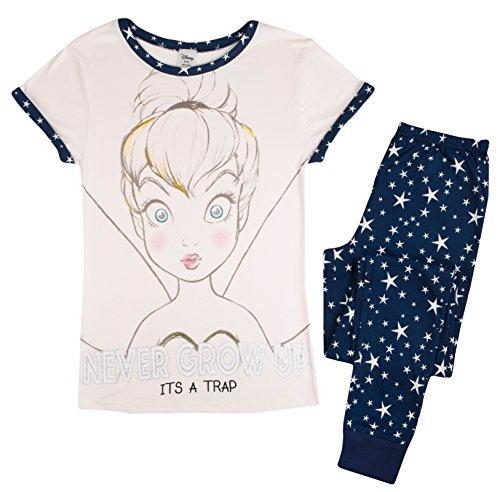 Tinkerbell Mädchen Pyjamas (Lora Dora Damen Pyjama Gr. 34/36, Tinkerbell - It's a Trap)