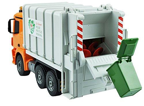Ferngesteuerter RC Müllwagen Mercedes Benz mit Sound und Funktion inkl AKKU NEU Ferngesteuertes