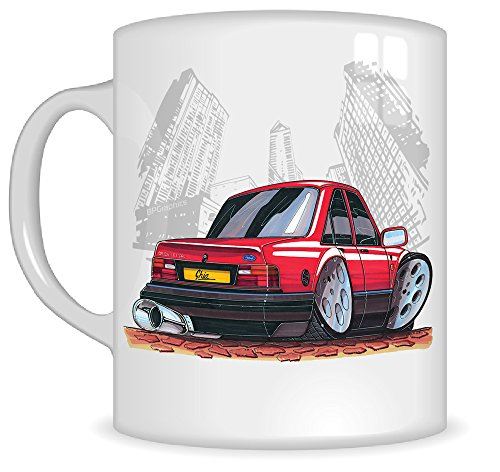 Ford Orion Ghia Cartoon Mug Gift