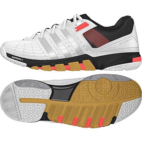 adidas Badminton Sportschuh Quickforce 7 Weiss Gr. 40 2/3(7), Q35450