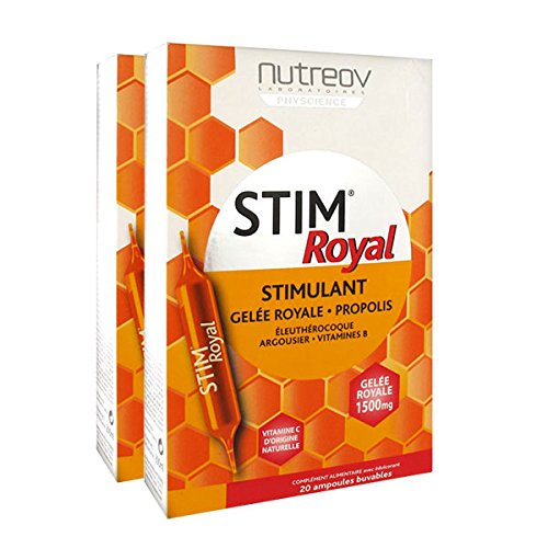 Nutréov Stim Royal Lot de 2 x 20 Ampoules Buvables