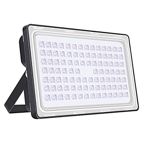 Viugreum 250W LED Outdoor Floodlight, Thinner and Lighter Design, Waterproof IP65, 30000LM, Warm White(2800-3000K), Super Bright Security Lights, for Garden, Yard, Warehouse, Square, Billboard
