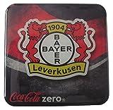 Coca Cola Zero - Fußballvereine - Bayer Leverkusen 1904 - Kühlschrankmagnet 6 x 6 cm