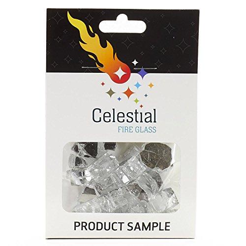 Celestial Fire Glas-Tempered Glas/Fire in 10Pfund Jar mit Tragegriff-Für Gas Fire Gruben und Kamine