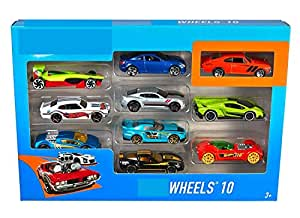 Nile Toys® 10 Car Pack (10 Car Pack), Color & Design May Vary
