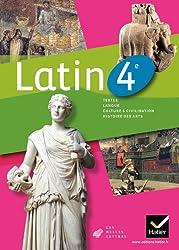 Latin 4e éd. 2011 - Manuel de l'élève