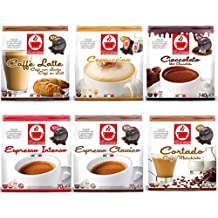 60 Dolce Gusto Compatible Coffee & Hot Chocolate Capsules Variety Pack - 6 Different Blends