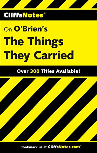 O'Brian's the Things They Carried (Cliffs Notes S.) por Jill Colella