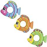 Bestway Schwimmring, Happy Fish, 3-6 Jahre, 81 x 76 cm, sortiert