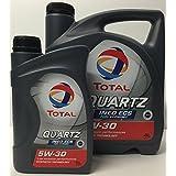 Aceite de motor TOTAL QUARTZ INEO ECS 5W30 5 litros (1x4 lts + 1x1 lt)