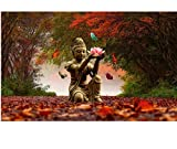 CYKEJISD Puzzle 1000 Teile DIY Herbst Von Buddha Klassisches Puzzle 3D Puzzle Holzspielzeug Einzigartiges Geschenk Home Decor