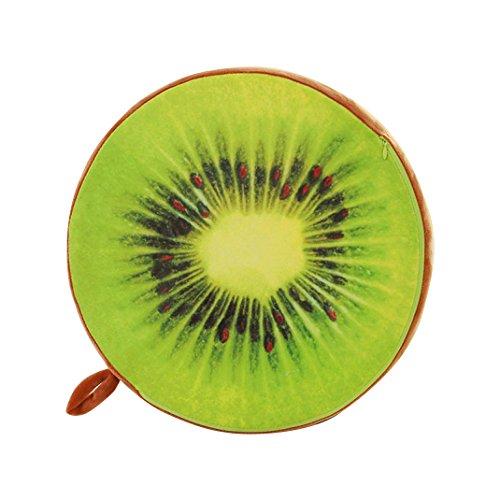 Zu Hause Liege (Oyedens Weich Zu Hause Süß Runde Kiwi Kissen PlüSch Esszimmerstuhl Polster)
