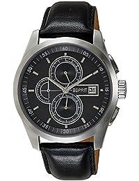 Esprit Herren-Armbanduhr XL circolo Chronograph Leder A.ES104091001