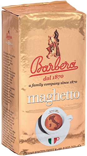 Caffè Macinato 500g (2 per 250g) - miscela Maghetto - Caffè Barbera
