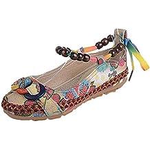 Bailarinas Mujer ❤ Amlaiworld Zapatos Planos cómodos Mujer Primavera Verano Bohemia Sandalias Zapatos Planos de