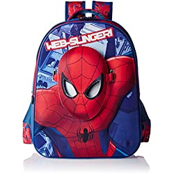 Spiderman Polyester Multi-Colour School Bag (Age group :6-8 yrs)