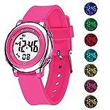 MEETYOO Relojes de Pulsera Infantil, Relojes Niña Digitales Impermeabl Niño Deportes Relojes con Alarma Cronómetro para 6-16 Edad
