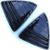 Coppia di triangoli paraurti per Ford Focus, colore: nero