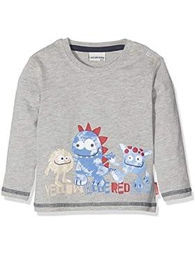 SALT AND PEPPER Baby - Jungen Langarmshirt B Longsleeve Monster Print