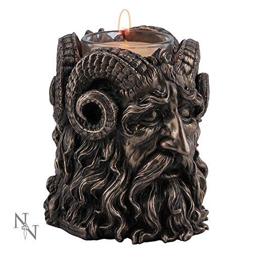 Nemesis Now corna Dio Wicca portacandela 9,5cm