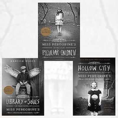 Miss Peregrine's Peculiar Children Collection Ransom Riggs 3 Books Bundle (Miss Peregrine's Home for Peculiar Children,Library of Souls: The Third Novel of Miss Peregrine's Peculiar Children ,Hollow City: The Second Novel of Miss Peregrine's Children)