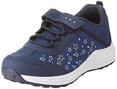 Lico Mädchen Dreamer Vs Sneaker, Blau (Marine/Silber), 28 EU