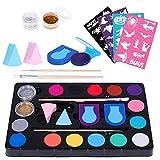 Frcolor 16 Farbe Gesicht und Körperfarbe Haarfärbemittel Farbe Professionelle Kostüm Make-up Farbe Liefert