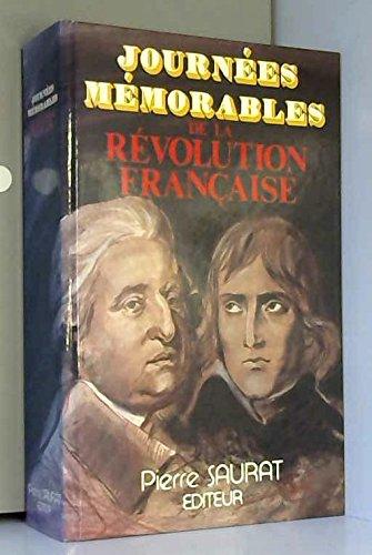 Journées mémorables de la Révolution française par (Cartonné)