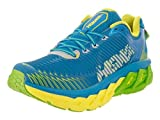 Hoka One One Men's Arahi Blue Aster/Blazing yellow Running Shoe 9 Men US