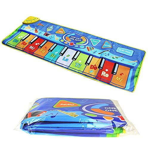 Huhua ㋡Tapis de Jeu de Tapis de Jeu de Grand Instrument de Musique d'enfant de Musique de Couverture de Multi-Fonction