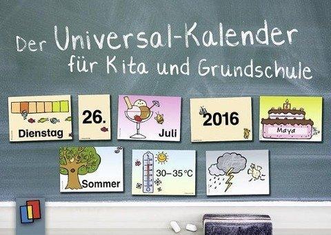Der Universal-Kalender für Kita und Grundschule - 134 Karten zum individuellen Zusammenlegen (Wir-karte-kalender)