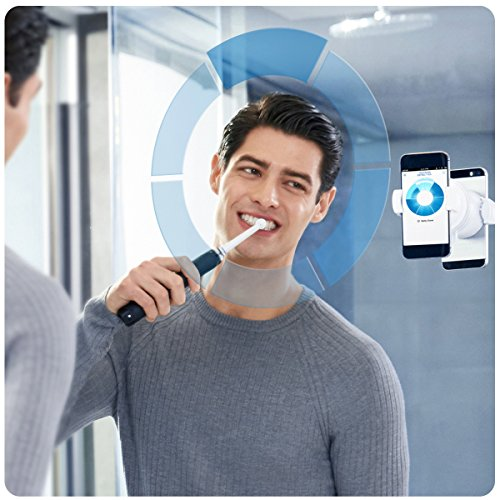 Oral-B Genius 9000 Electric Rechargeable Toothbrush Powered by Braun – Black – Ships with a 2 pin plug