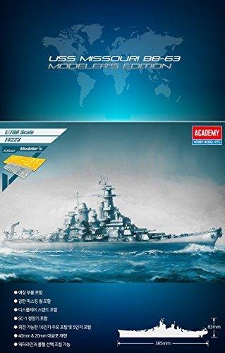 ACADEMY 14223 1/700 USS MISSOURI BB-63 MODELER`S EDITION