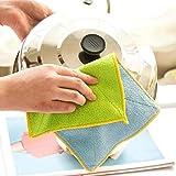 Global Brands Online 2Pcsp / Set Colorful ReinigungstüCher Küchenreinigungswerkzeuge