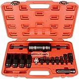Neilsen–Juego de extractor de inyector de inyección (Common Rail adaptador Diesel Inyectores Juego de herramientas