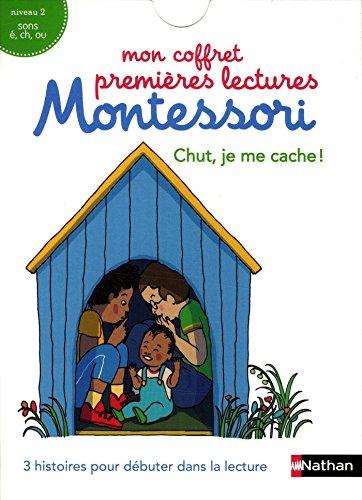 Mon coffret premières lectures Montessori : Chut, je me cache ! par Chantal Bouvÿ