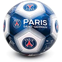 Paris Saint Germain FC Official - Balón de fútbol con firmas (talla 5)