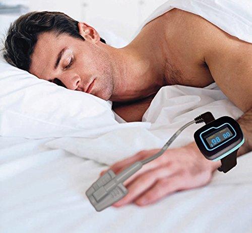 ChoiceMed schlafen Monitor / Handgelenk Pulsoximeter für die gesamte Nacht Überwachung (Modell MD300W512 FDA-Zulassung und CE-Kennzeichnung) von Home Care Wholesale