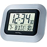 Technoline WS 8005 Horloge radio-pilotée Argent/noir