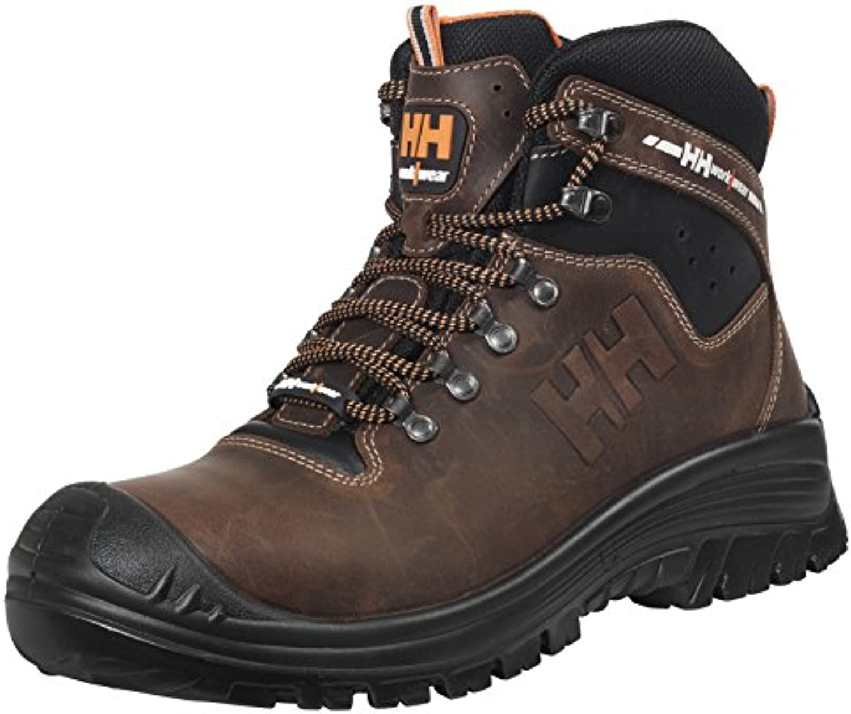 Helly Hansen Mens Vika Mid Lightweight Workwear Leather Safety Boots