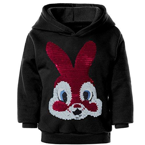 BEZLIT Mädchen Kapuzen Pullover Hoodie Wende Pailletten Sweatshirt 21548 Test