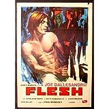 Andy Warhol's Flesh Plakat Movie Poster (11 x 17 Inches - 28cm x 44cm) (1968) Italian